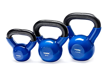 york kettlebells. york fitness vinyl dipped cast kettlebell: amazon.co.uk: sports \u0026 outdoors kettlebells t
