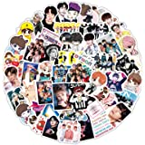 iXport PVC BTS Stickers Waterproof Tape Perfect for Laptop Computer Car Skateboard Water Bottle Travel Case Guitar Luggage Mo