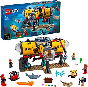 Lego 60265 City Sea Research Base Deep Sea Underwater Set Diving Adventure Toy For Children Spielzeug