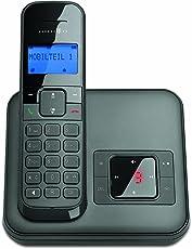 Telekom Sinus CA 34 - schnurloses Telefon mit Anrufbeantworter (Standard/Analog, AB, Full Eco Mode, 50 Telefonbucheinträge)