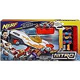 Hasbro Nerf Nitro E0858EU4 DoubleClutch Inferno, Fahrzeugblasterset