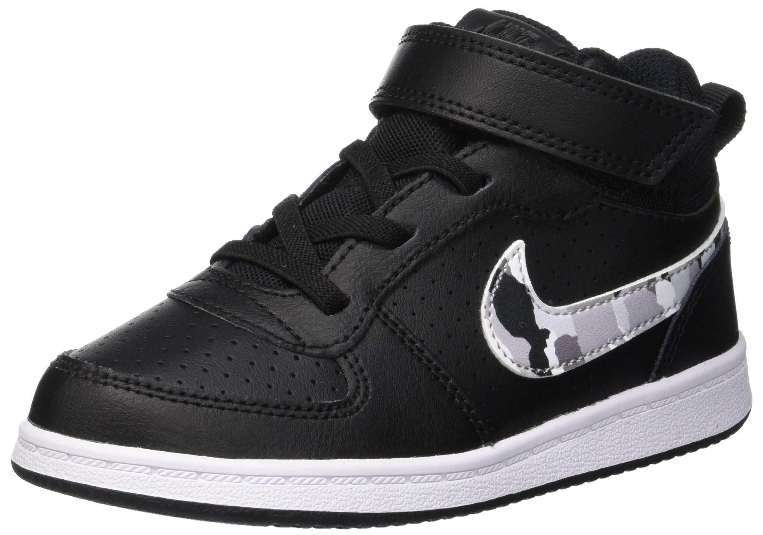 Nike Boy's Court Borough Mid (TDV) Gymnastics Shoes Child