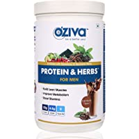 OZiva Protein & Herbs, Men (Cafe Mocha,34 Servings)