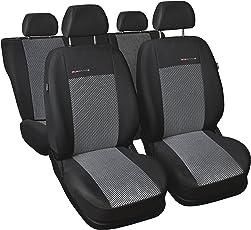 Auto-Dekor 5907806259609 Lupo/Seat sa 97-05 Maßgefertigte Sitzbezüge, schwarz