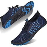 Mens Water Shoes Quick Dry Barefoot Sports Outdoor Sports Aqua Beach Swimming Surfing Diving Jogging Boating Walking Non-Slip