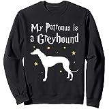 My Patronus is a Greyhound - Dog - Funny - Grey Hound Sweatshirt