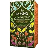 Pukka Kollektion Bio-Tee (für das Wohlbefinden - mit fünf verschiedenen Bio-Grüntees - 100% biologisch Aufgussbeutel) 4…
