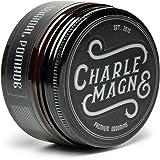 Charlemagne Original Pomade - Perfekter Glanz - Idealer Starker Halt - Haar-Styling Wachs für Herren & Männer- 100ML - Fettet nicht - Hair-Wax hergestellt in UK - Edler Duft - Extra Strong Hold - Hart