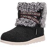 MUK LUKS Women's Tamara Boot-Dark Grey Fashion