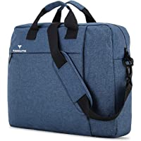 Tabelito Office Laptop Bags Briefcase 15.6 Inch for Women and Men (Blue) (TAB-BC-Blue)