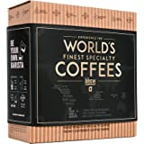 Original Gourmet Coffee Gift Set for Men & Women – 5 of The World's Finest Single Estate Specialty & Organic Coffees   Brew &