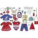 Zapf Creation 828472 BABY Born adventskalender met 24 kleding- en accessoireverrassingen voor BABY Born, poppenaccessoires, 4