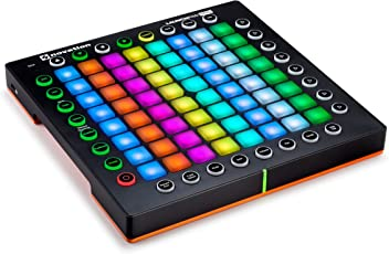 Novation Launchpad Professional 64-Pad Grid Performance Instrument für Ableton mit MIDI I/O