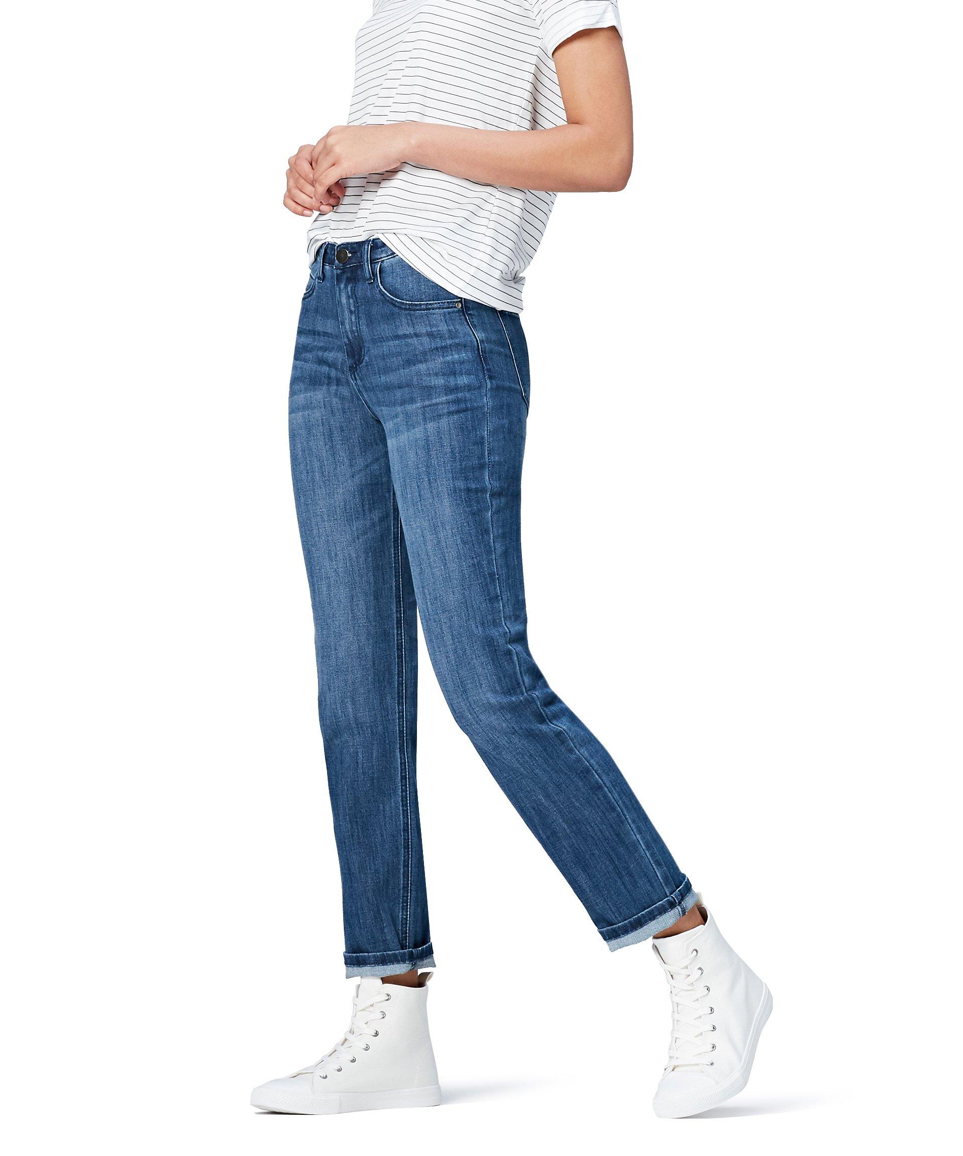 Marchio Amazon – find. Jeans Dritti Vita Regular Donna
