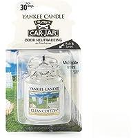 Yankee Candle parfum pour voiture Car Jar Ultimate, Clean cotton
