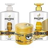Pantene Pro-V by CHIARA FERRAGNI Shampoo Rigenera & Protegge per Capelli Deboli o Danneggiati, Maxi Formato da 1000 ml + Bals