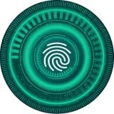 Écran de verrouillage secret d'empreintes digitales