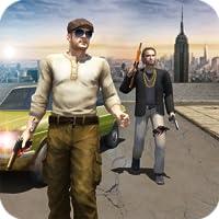 Gang Guerre Crime de la mafia Ville Simulateur Jeu 3D- San Andreas Vol de voiture Jeux de gangsters  Pour Gratuit
