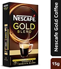Nescafe gold Blend, Premium Imported Coffee Powder 15g