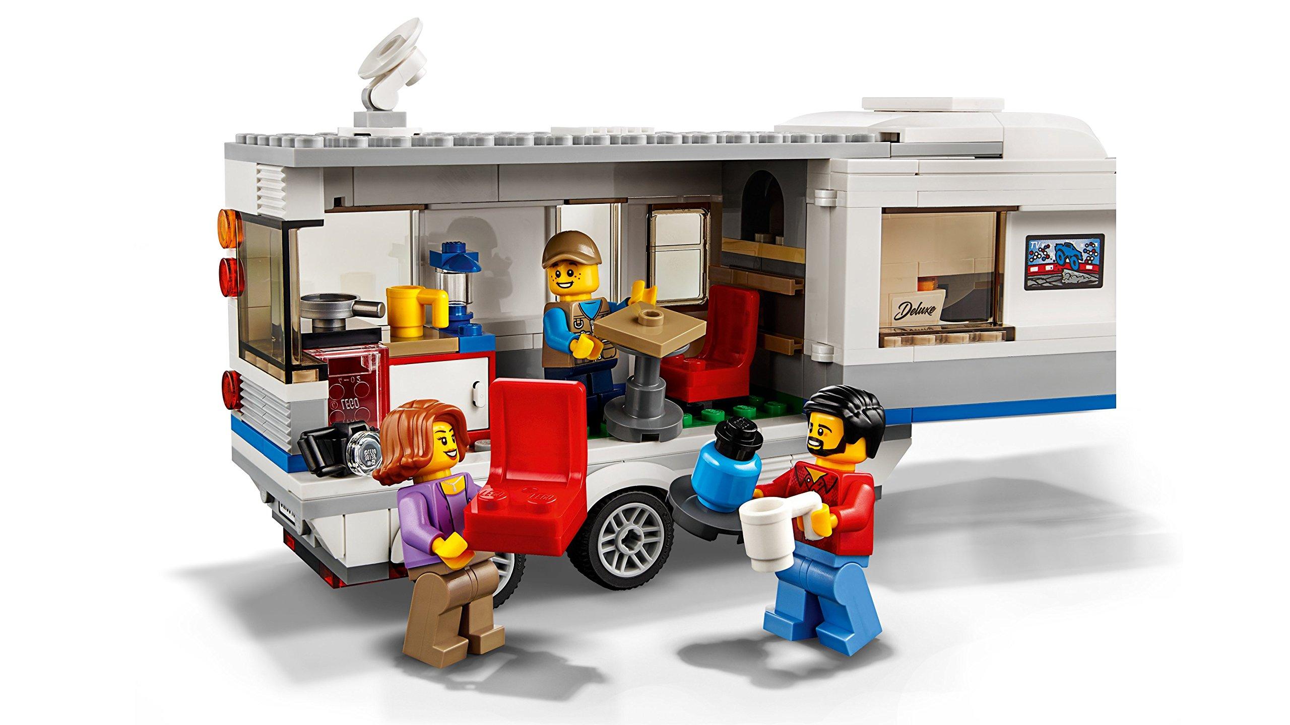 LEGO- City Pickup e Caravan, Multicolore, 60182 4 spesavip