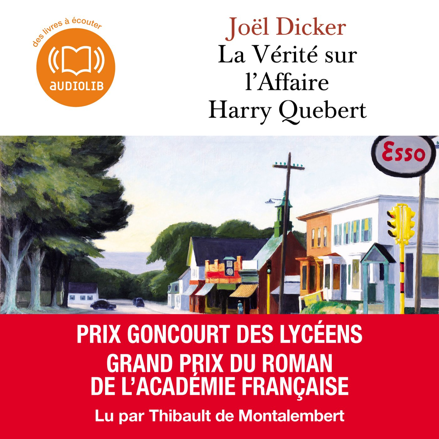 La Vérité sur l'Affaire Harry Quebert , de Joël Dicker