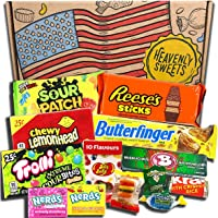 American Candy and Chocolate Hamper Box - Classic USA Brands Set, Sweets Treats, Perfect Gift for Children, Adults…