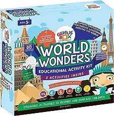 Genius Box Learning Toys for Children : World Wonders Activity Kit
