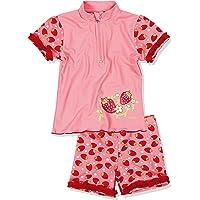 Playshoes, Completo da Bagno (Maglietta + Pantaloncini) Bambina