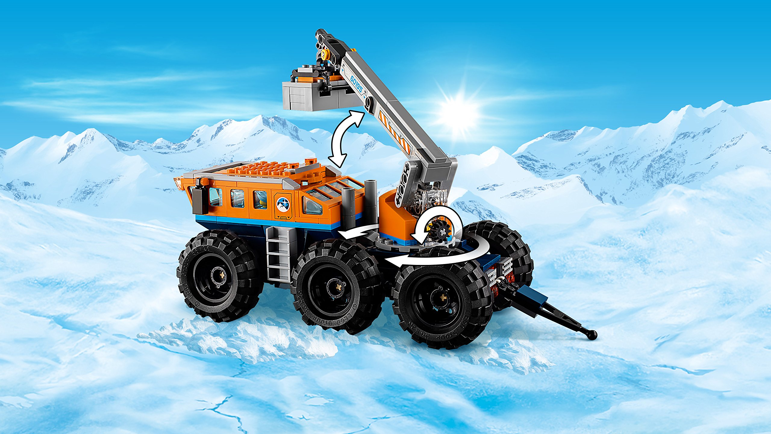 LEGO Base Mobile Di Esplorazione Artica Costruzioni Piccole Gioco o 562 4 spesavip