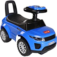 Luvlap - 18326 Starlight Baby Ride On Car for Kids, Battery Operated Horn, Music & Light 12 Months Plus (Blue)