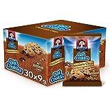كويكر كوكيز الشوفان بقطع الشوكولاته ، 30 قطعة ، 9 غ