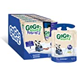 GoGo squeeZ Blueberry YogurtZ, 20 Pouches x 85g