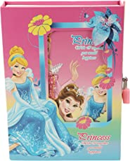Asera Princess Diary with Lock Case for Girls Gifts Options- Blue and Pink