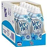 Vernel Fresh Control Ammorbidente Neutralizza Odori, Freschezza Glaciale, 12 x 28 Lavaggi