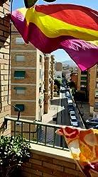 Ericraft Bandera Republicana española Grande 90x150cms Bandera república de España balcón para Exterior Reforzada y con 2 Ojales metálicos, Bandera España república Grande, Banderas españolas: Amazon.es: Jardín