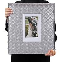 RECUTMS Albums Photo 10x15cm Tenir 600 Photos Pages Noires Album d'Images Horizontales et Verticales Photo Albums…