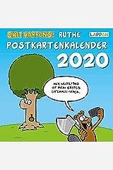 Shit happens! Postkartenkalender 2020 Kalender