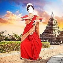 Las mujeres Sari montaje de la foto