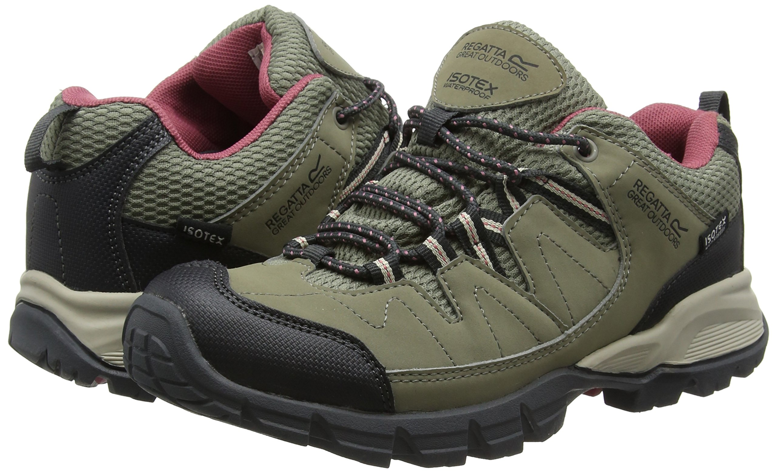 Regatta Lady Holcombe, Women's Low Rise Hiking Shoes 5
