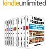 Takeout Cookbooks Box Set 10 books in 1! Favorite Takeout Recipes to Make at Home: 1. Chinese; 2. Thai; 3. Japanese; 4. Korea
