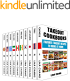 Takeout Cookbooks Box Set 10 books in 1! Favorite Takeout Recipes to Make at Home: 1. Chinese; 2. Thai; 3. Japanese; 4…
