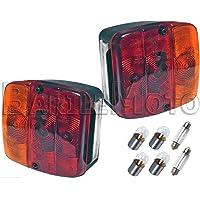 /3/lampadine 160/x 70/x 70/mm Orangemarine Fanale Sinistro Posteriore Universale/