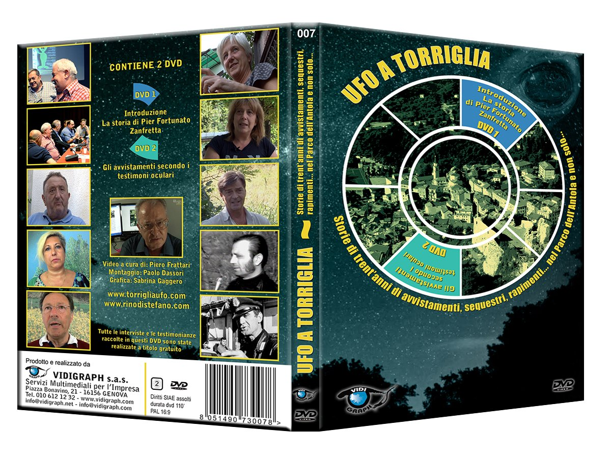 Ufo a Torriglia. Storie di trent�anni di avvistamenti, sequestri, rapimenti... nel Parco dell�Antol