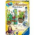Ravensburger - Mini coffret Mosaïque - Thème Cactus et Lama - Loisir créatif - Kit d'activités enfants - A partir de 7 ans -