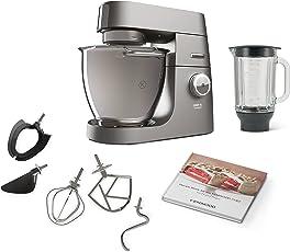 Kenwood Chef Titanium, Küchenmaschine, silber
