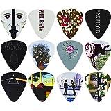 Perri's Leathers - Plettri motivo 'Pink Floyd' (confezione da 12)