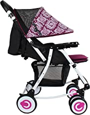 Abdc Kids 2-in-1 Rocker Stroller, Pink