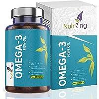 Omega 3 Olio di Pesce a Tripla Potenza - 2000mg a porzione con 660mg EPA e 440mg DHA - 180 Gel Morbido Capsule - Senza…