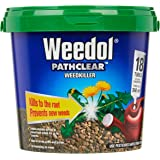 Weedol Pathclear Liquid Concentrate Weedkiller Tubes - 18 Pack, Weed Control