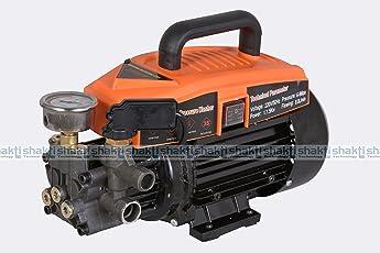 BMB Technology Plastic High Pressure Car Washer Pump 1500W (Yellow, MB-M6)
